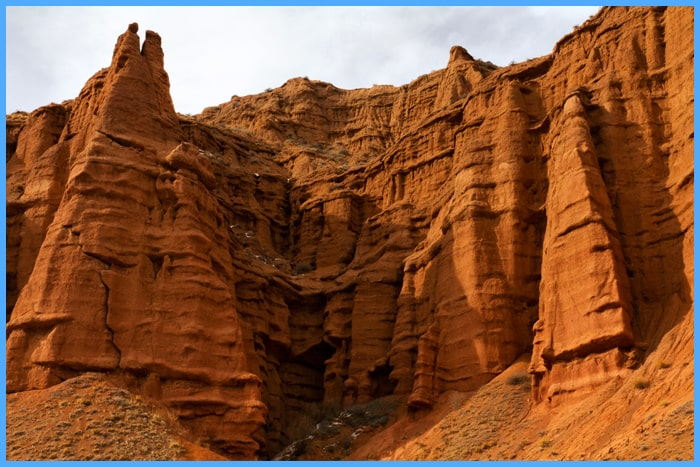 Red Canyon tour, Kyrgyzstan tours.